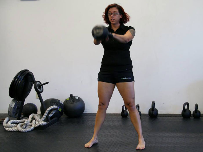 Stephanie Woods, RKC, Kettlebell Swing